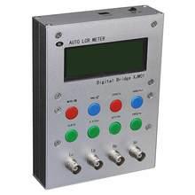 XJW01 – pont numérique 0.3% L/CR, testeur de résistance, inductance, capacité, ESR mètre, produit fini Avec boîtier métallique