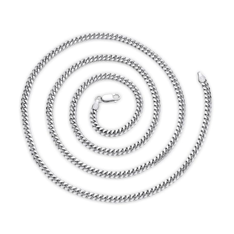 Collares de cadenas con colgantes de plata de ley 925 para hombre, cadenas de collar de cadena de plata para DIY, hallazgos de joyería, fabricación de Material Colgantes de plata de ley 925 de alta calidad con cuentas de Arbol de la vida compatibles con la pulsera Pandora Original