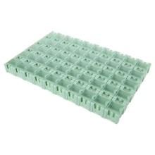 50 Pcs/Set SMD SMT Electronic Component Container Mini Storage Boxes Kit