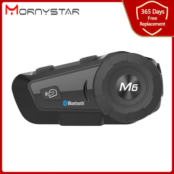 1000m Bluetooth Intercom Motorcycle Helmet Headsets for Rider BT Wireless Walkie Talkie Moto Stereo Interphone MP3 GPS FM Radio 1