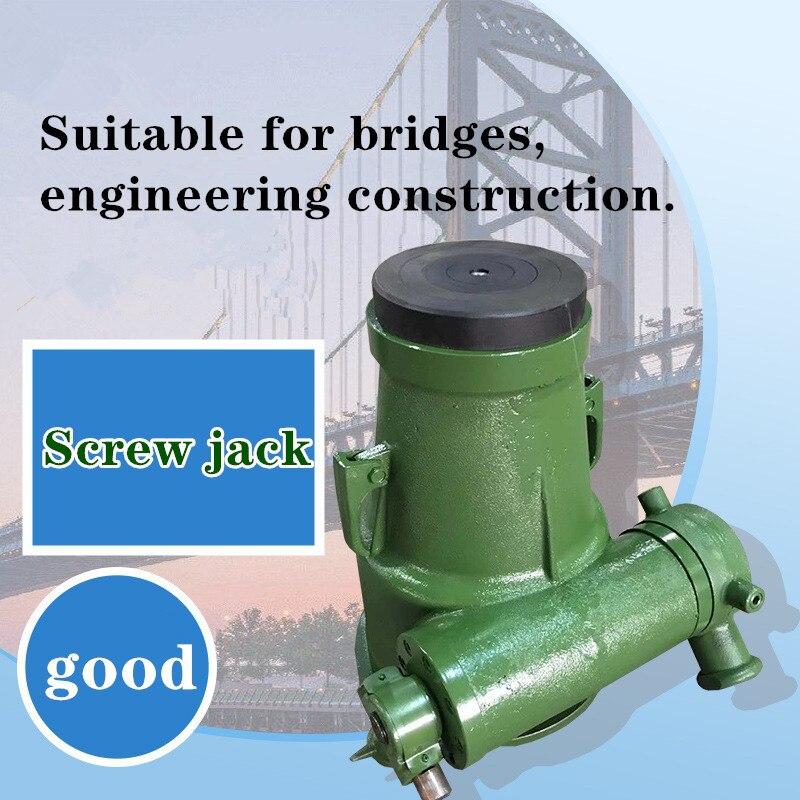 Mechanical Screw Jack 3-32T Gear Jack Bridge Hoisting Screw Jack