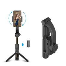 Gimbal-Stabilizer Action-Camera Vlog Smartphone Handheld Bluetooth with Shutter-Tripod