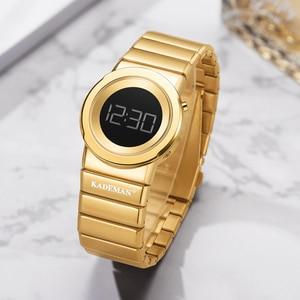 Image 4 - 2020 Kademan Mode Vrouwen Luxe Rvs Quartz Horloges Dames Business Horloge Japanse Quartz Relogio Feminino