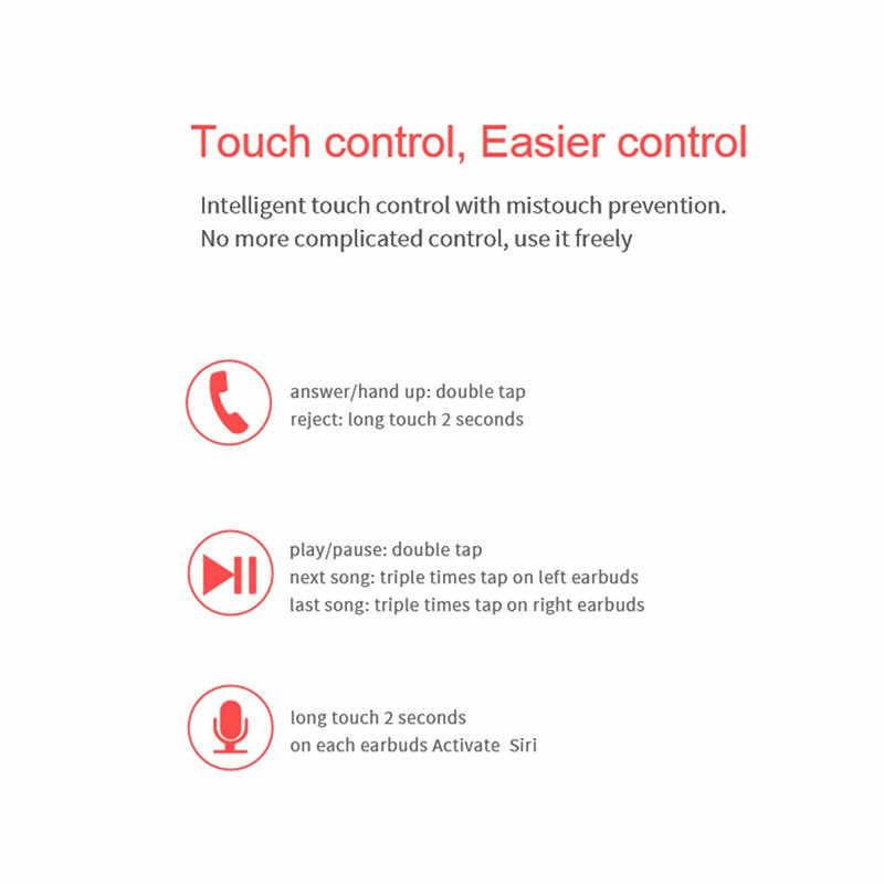 M9 イヤホン BT 5.0 TWS ワイヤレス Bluetooth イヤホンステレオ人間工学デザインノイズリダクションイヤフォン Fone のデ Ouvido 50SEP12