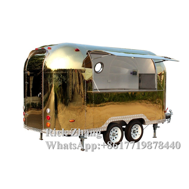 Customized Stylish Mobile/snack Hot Dog/snack/street Food Truck For Sale Europe With Cooking Equipment Fryer