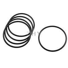 5 шт. черный резиновый уплотнительный масляный фильтр уплотнительные кольца прокладки 75 мм x 68 мм x 3,5 мм