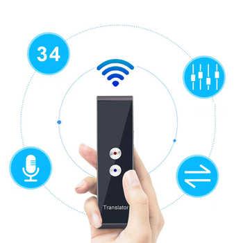 Nieuwste Modus T8 Instant Stimme Vertaler Mini Draagbare Bluetooth Wireles Intelligente Tolk 40 Talen Heißer Koop