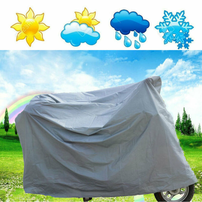 Waterproof Universal Bicycle Motorcycle Cycle Bike Cover Outdoor High Quality Rain Dust Protector Accessories