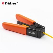 Tribrer TTP 01革ケーブルストリッパープライヤーファイバ光ファイバコールドピッキングツールのための2ミリメートル/3ミリメートル屋内繊維