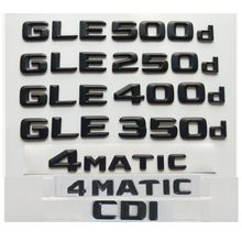 3d Черный для mercedes benz gle220d gle250d gle280d gle300d