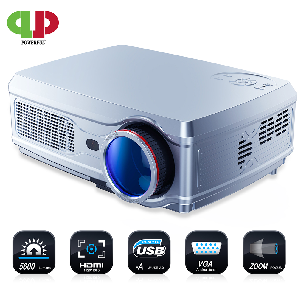 POWERFUL Projector Bluetooth Android-7.1 Home Cinema Full-Hd 1920--1080p 4K SV-358 LED title=
