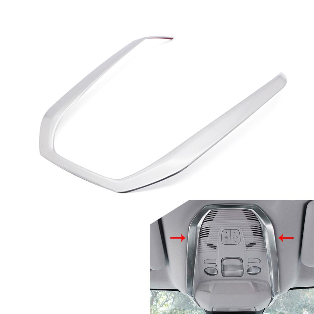 For <font><b>Peugeot</b></font> 3008 /<font><b>GT</b></font> <font><b>5008</b></font> <font><b>GT</b></font> 2017 2018 2019 Accessories Reading Light frame Trim cover Interior Mouldings Car Styling Decoration image