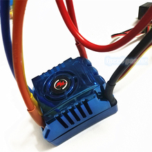 цена на Surprise Price Hobbywing XERUN SCT PRO 80A Blue Induction Brushless ESC Applies to 1/10 1/8 RC  Truggy Monster Truck