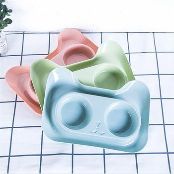 Creative  Non-Slip Double Bowls  3