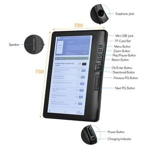 Image 4 - Lcd 7 Inch Ebook Reader Kleur Screen Smart Met Hd Resolutie Digitale E book Video MP3 Muziekspeler (8 Gb)