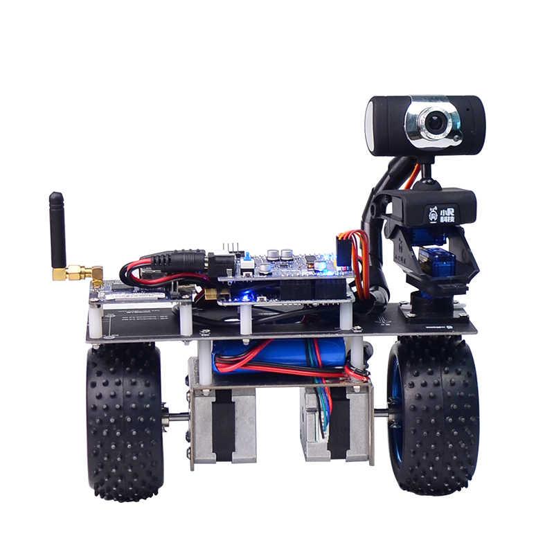 STM32 dwukołowy deskorolka elektryczna WiFi bluetooth bezprzewodowy robot wideo sterowanie PC DIY