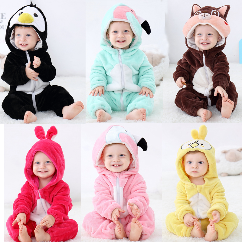 Coollifea Groundhog with Hats Baby Romper 0-18 Months Newborn Baby Girls Boys Layette Rompers Black