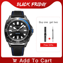 Seagull waterproof watch male multi function luminous leisure sports new automatic mechanical watch 6057H marine series