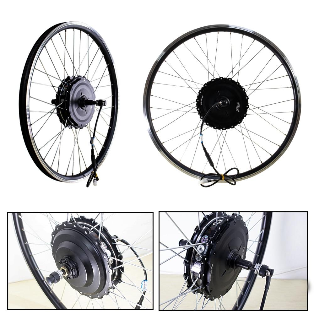 MXUS Elektrische Fahrrad Motor 48V 500W Ebike Hinterrad Motor e Bike Hub Motor Bürstenlosen für Elektrische Fahrrad