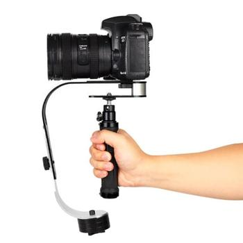 Handheld Video Stabilizer Camera Stabilizer for Canon Nikon Sony Camera for Gopro Hero Phone DSLR Smartphone Gimbal Stabilizer zhiyun crane 2 dslr gimbal stabilizer 3 axis brushless handheld video camera stabilizer kit for mirrorless camera load 3200g