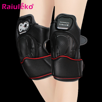 Infrared Heat Massager Electric Vibrating Massager Magnetic Therapy Knee Equipment Pain Relief Arthritis Brace Support