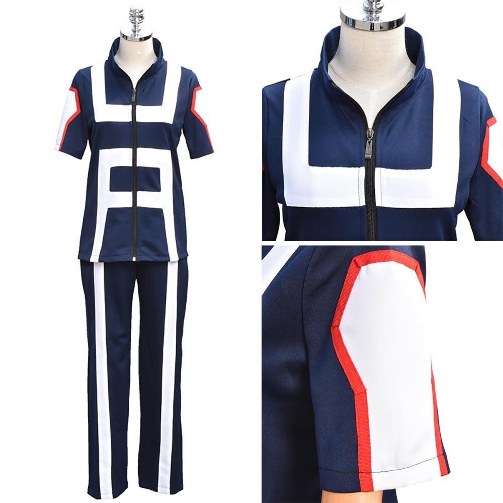 My Boku No Hero Academia School Uniform Cosplay Costume Kohei Horikoshi Gym Suit