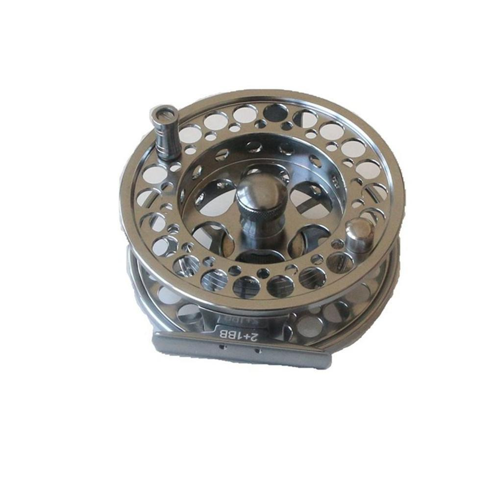 90mm Wheel Fly Fishing Fly Reel 3/4# 5/6# 7/8# 9/10# Manufactured Aluminum Micro Regulating Drag Trout Fishing Reel