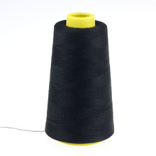Household Tools Polyester Sewing Thread Pagoda Thread 1PC 2300 Yards Black White Sewing Thread Spools for Hand & Machine Sewing