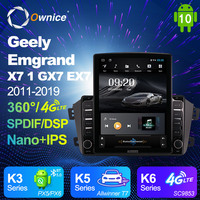 Ownice Android 10.0 Car Multimedia for Geely Emgrand X7 1 GX7 EX7 2011   2019 Car Auto Radio 2din Audio Video System Unit