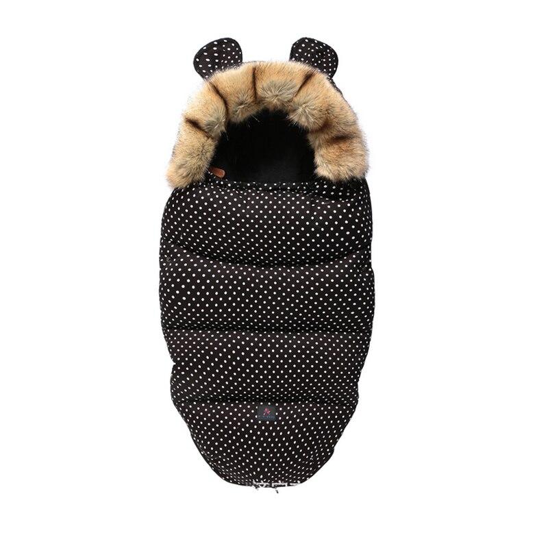 Newborn Baby Sleep Bag Autumn Winter Sleeping Net Warm Thicken 2019 NEW Unisex Baby Cotton Blankets Wearable For 0-18 Month Baby