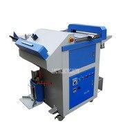 9 in 1 Multi functional Album Menu Making Machine Creasing Trimming Hot/Cold Pressing Corner Rounding Binding Machine LHY A
