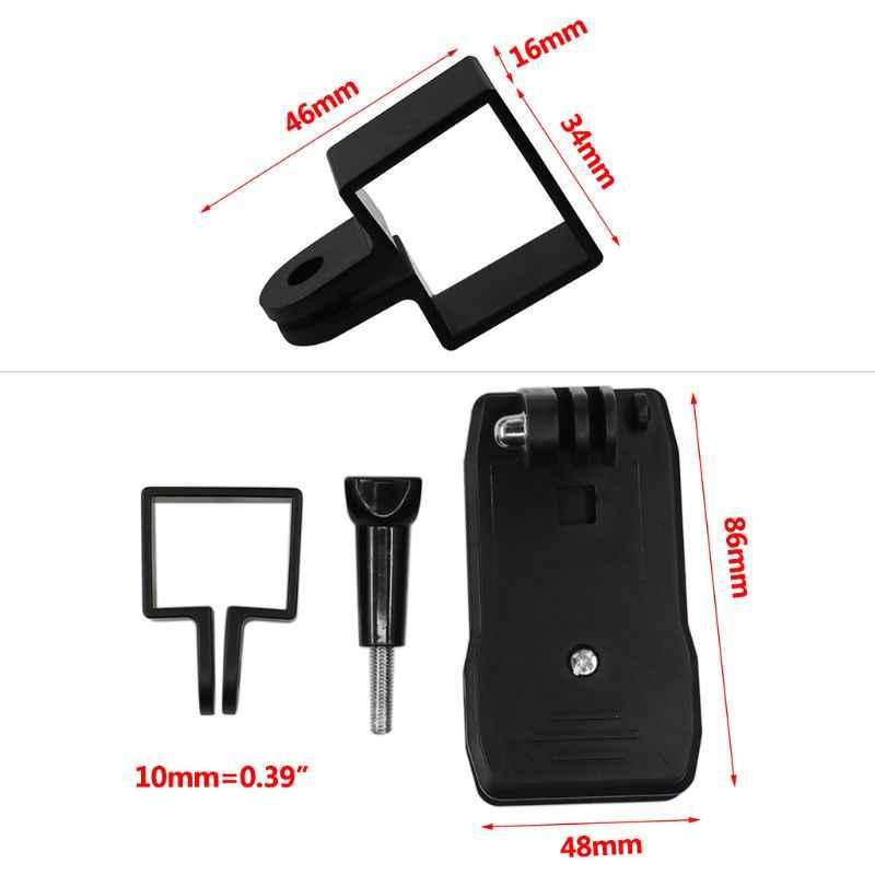 Sac à dos pince Clip de montage cadre de protection étui support adaptateur pour DJI Osmo poche cardan pour Gopro caméra accessoires