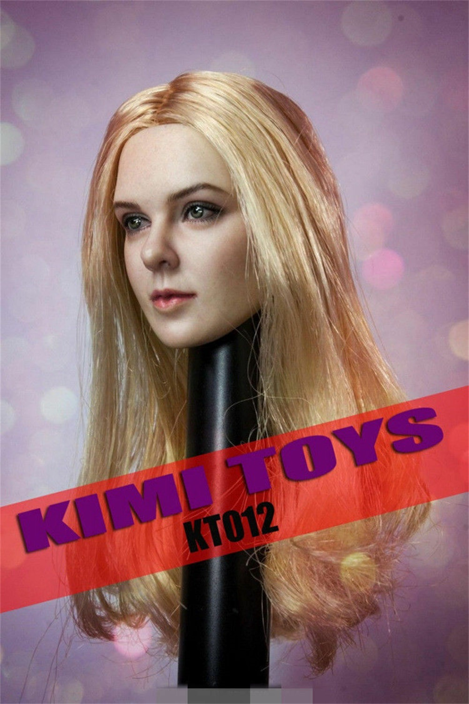 Kimi brinquedos 16 figura fêmea cabeça esculpir