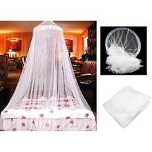 Indoor Hang Dome Mosquito Nets Elegant Classical romantic sweet princess students Round Insect Bed Canopy Netting Curtain #xin(China)