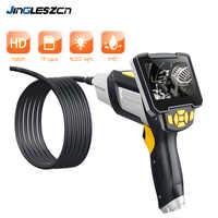 Digital Industrie Endoskop 4,3 inch LCD Videoscope-endoskop mit CMOS Sensor Semi-Starre Inspektion Kamera Handheld Endoskop