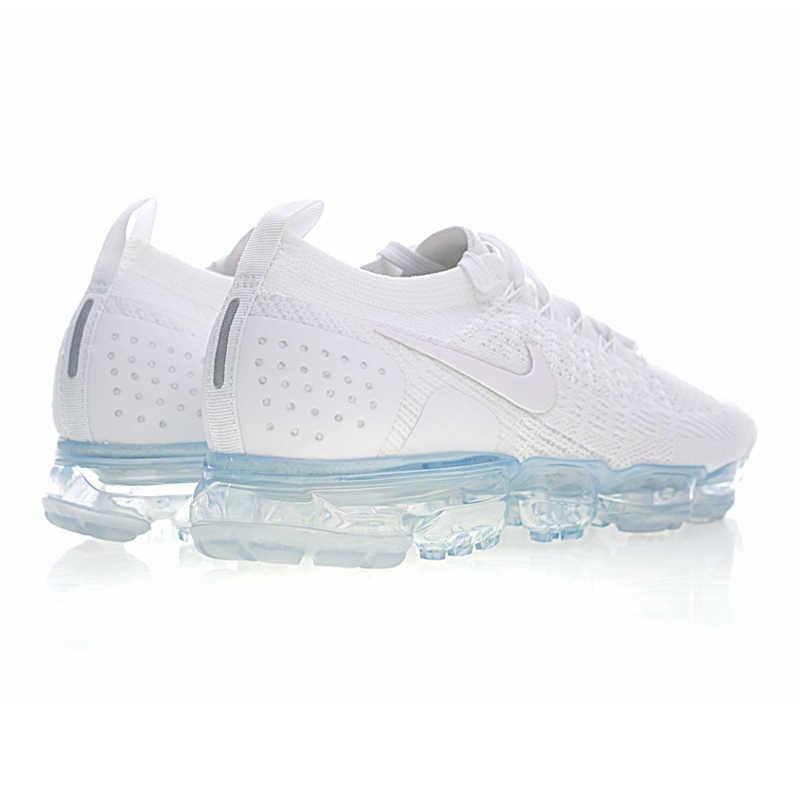 Оригинальные подлинные мужские кроссовки для бега от NIKE AIR VAPORMAX FLYKNIT 2, дышащие уличные спортивные удобные прочные классические кроссовки 942842