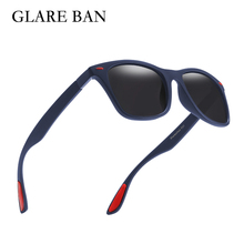 Glare Ban Brand UV 100% Polarized Sunglasses Men Polarized S