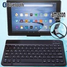 Беспроводная bluetooth клавиатура для amazon kindle fire hd