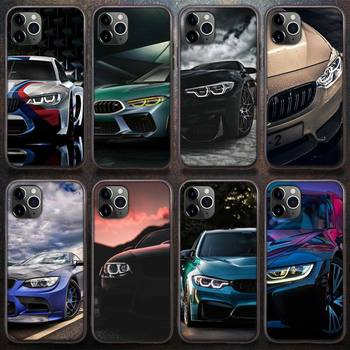 BMW Blue Red Car Phone Case for iPhone 8 7 6 6S Plus X 5S SE 2020 XR 11 12 Pro mini pro XS MAX image