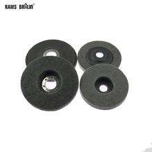 10 pezzi di 125/100 millimetri di Nylon Rettifica Disco 7P 180 # Flap Wheel per Finitura In Metallo Lucidatura del Legno su Smerigliatrice Angolare