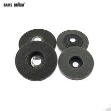 10 unidades 125/100mm disco de molienda de Nylon 7P 180 # rueda de aleta para acabado de Metal pulido de madera en amoladora angular