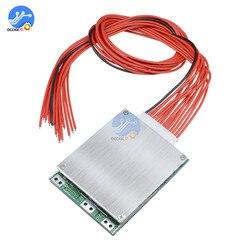 13S 35A 48V Li-ion lityum 18650 pil paketi BMS PCB kartı PCM dengesi entegre devreler kurulu Arduino için