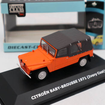 1:43 Citroen 2CV of the World Baby Brousse 1971 Ivory Cast Diecast Models Collection Limited Edition Toys IXO нина симон the hidden world of nina simone deluxe limited edition 3 cd