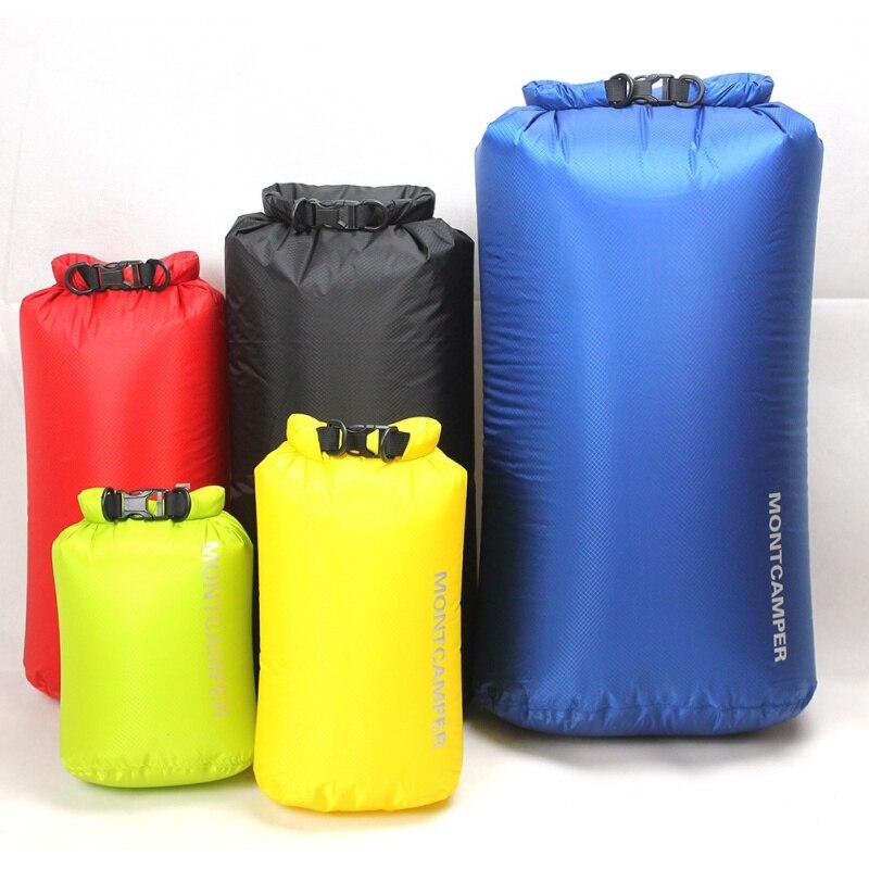 Waterproof Bag Dry 30D Nylon Diamond Grid Ultralight Drifting Swimming Debris Clothes Sleeping Storage