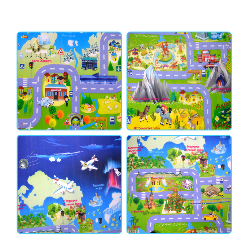 H5f7604da8c9c458095c2cb4e513dceec7 Baby Play Mat Kids Developing Mat 200*180*0.5 cm Thick Gym Games Play Puzzles Baby Carpets Toys For Children's Rug Soft Floor
