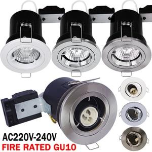Распродажа, 90 минут, огнестойкий GU10 Светодиодный светильник с регулируемой яркостью, светодиодный светильник GU10, светодиодный светильник д...