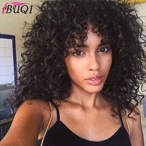 BUQI Short Loose Curly Wigs Fo