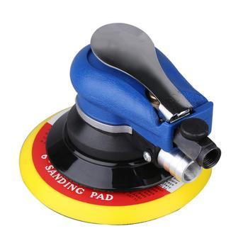 цена на Air Random Orbital Sander Vacuum With Dust Bag 150mm Pad Hand Power Tool 10000rpm Polisher Grinding Sanding Tools