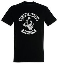 Black Riders MC Tops Tee T Shirt Lord Of Nazgul Biker Fun The Patch Rings Mordor Sauron T-Shirt Brand Clothing Tops(China)