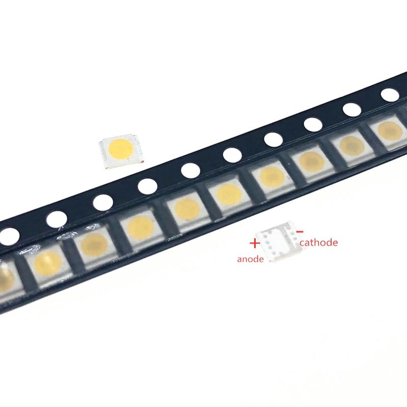 100pcs FOR Original LG LED LCD TV Backlight Lamp Beads Lens 1W 3v 3528 2835 Cool White Light Bead